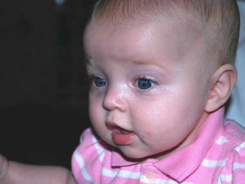 Another photo shoot.... sure if it will make Mommy and Daddy smile!