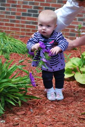 Look I am gardening!