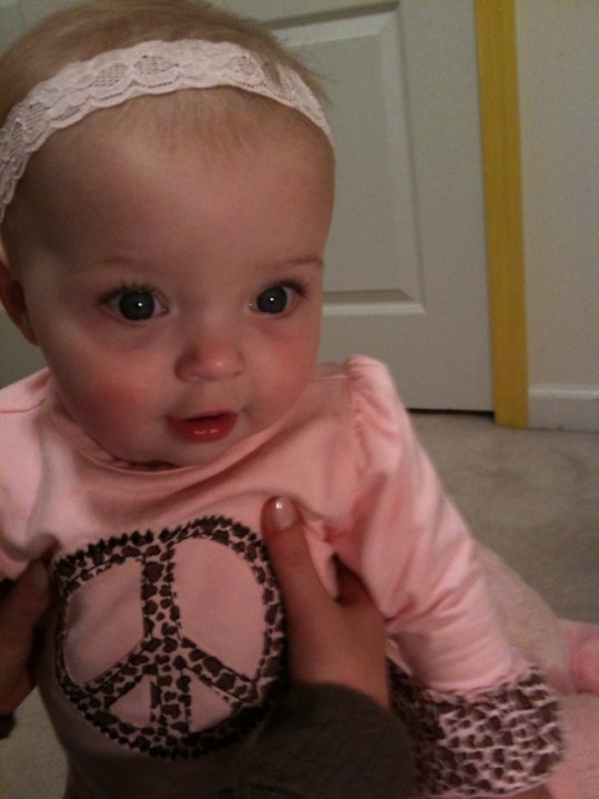 Little Miss hopes for PEACE that will bring her  mom and dad home!