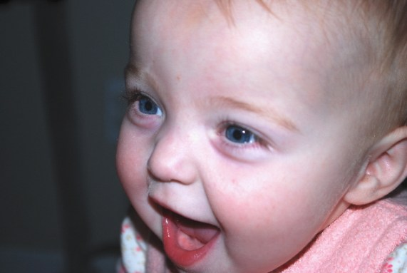 Little Miss Happy!