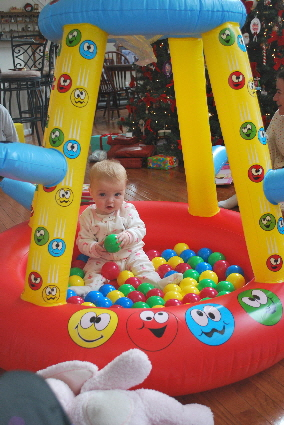 A BALL PIT FOR GUILLIANNA!