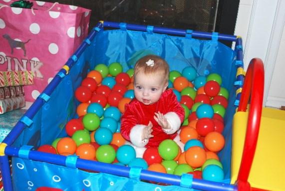 Me in my indoor pool of balls!