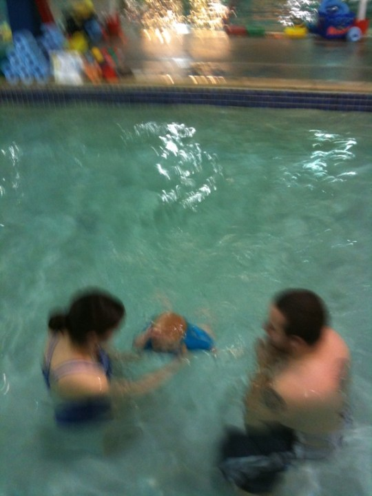 Guillianna Under Water!