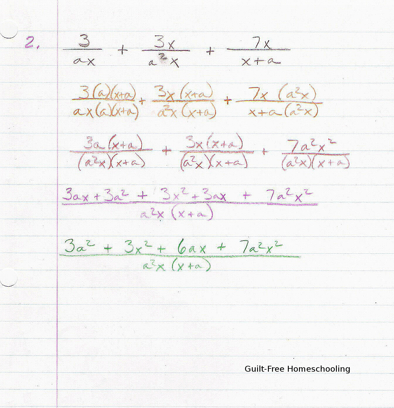 Solve Math Problems And Show Work Free
