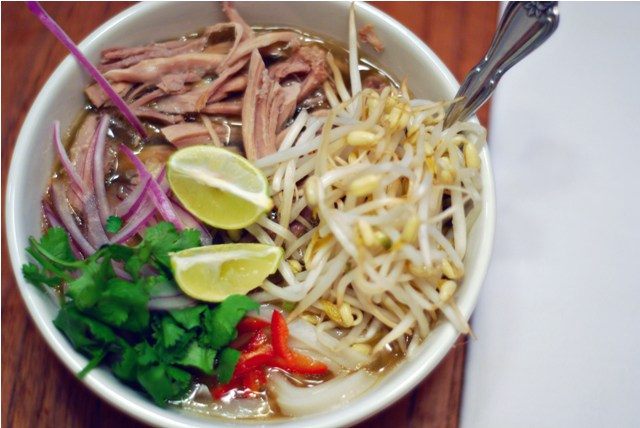 Pork Pho, all done