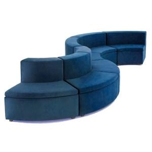 o sofá Lounge modulado fica perfeito em recepções, áreas de convivencia em empresas, hospitais, hotéis e aonde mais sua imaginação levar.