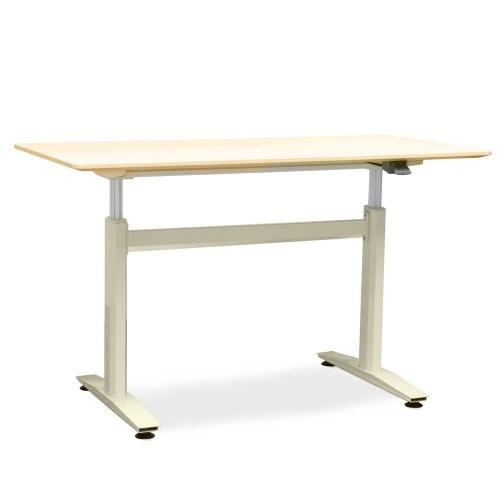 mesa de escritório com regulagem de altura