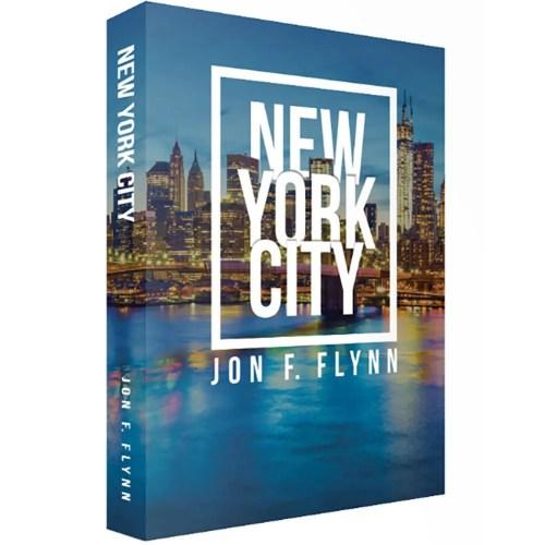 Livro caixa decorativo New York City