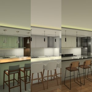 3 estilos de cozinha planejada
