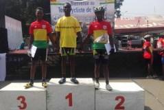 Tour cycliste de Guinée 2017 : Souaré, Sidiki et Abdoulaye sur le podium