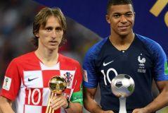 Football mondial : Luka Modric élu meilleur joueur de la Coupe du monde 2018