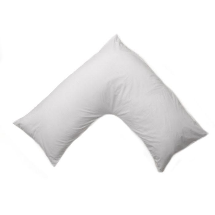 percale v shape pillowcase