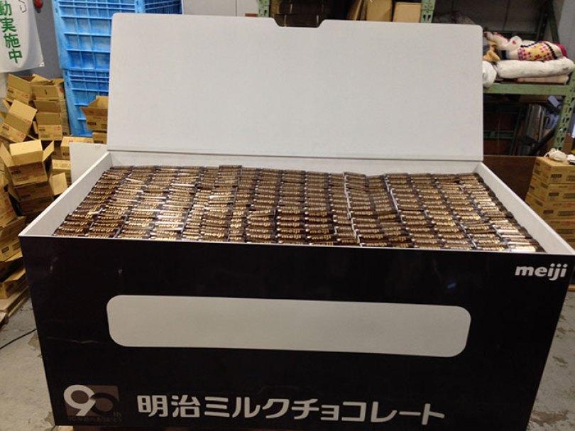 Largest box of chocolate bars tcm25 480700 - O chocolate mais caro do mundo! E outras curiosidades