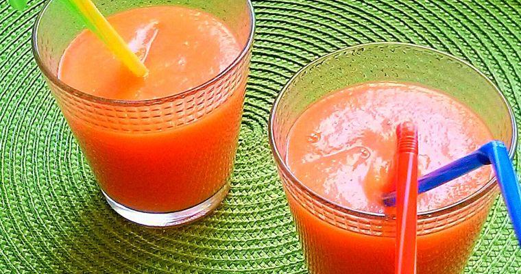 Smoothie medicinal de Papaya y Jengibre