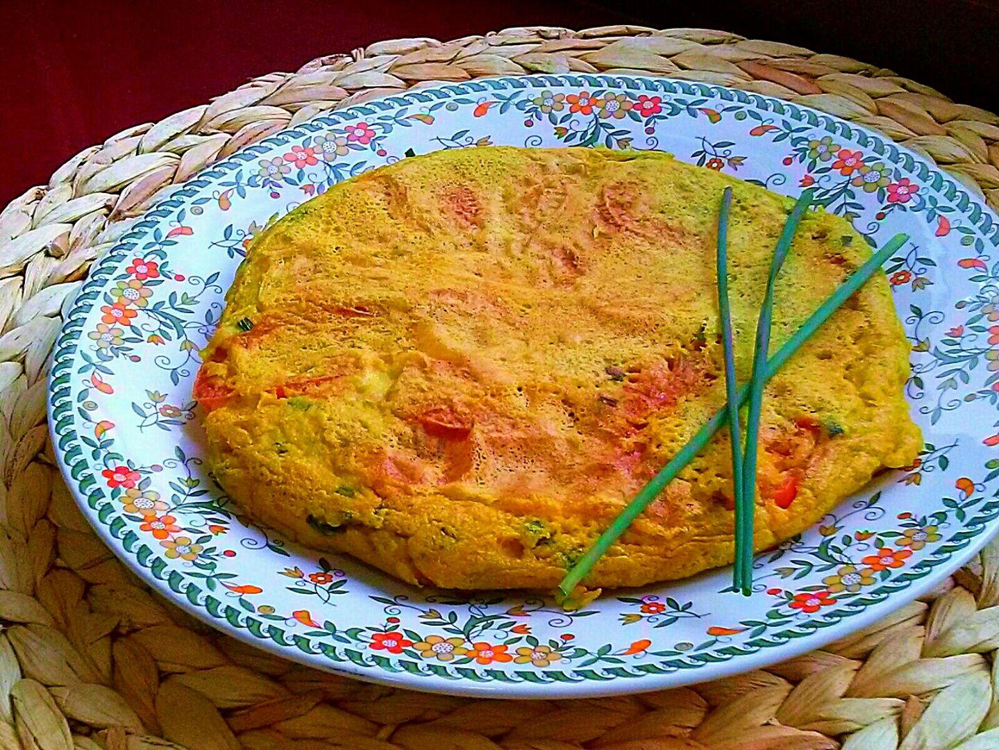 Tortilla Vegetariana. [Sin Huevo]