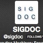 SIGDOC Twitter