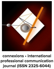 "The connexions journal logo; Published as part of ""CFP: DESIGNING PROFESSIONAL COMMUNICATION ACROSS CULTURES"""