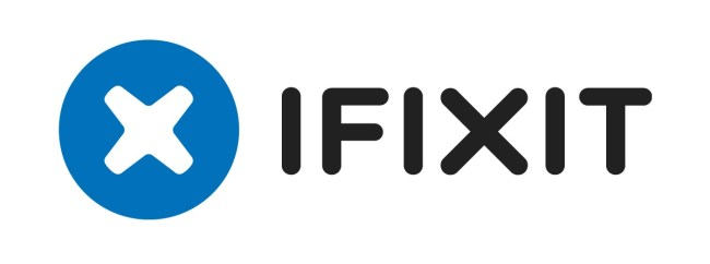 "The iFixit logo, published as part of 'User-generated content strategy in ""the free repair guide for everything.'"""