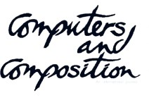 "The Computers and Composition logo, published to ""Mapping Personas: Designing UX Relationships for an Online Coastal Atlas"""