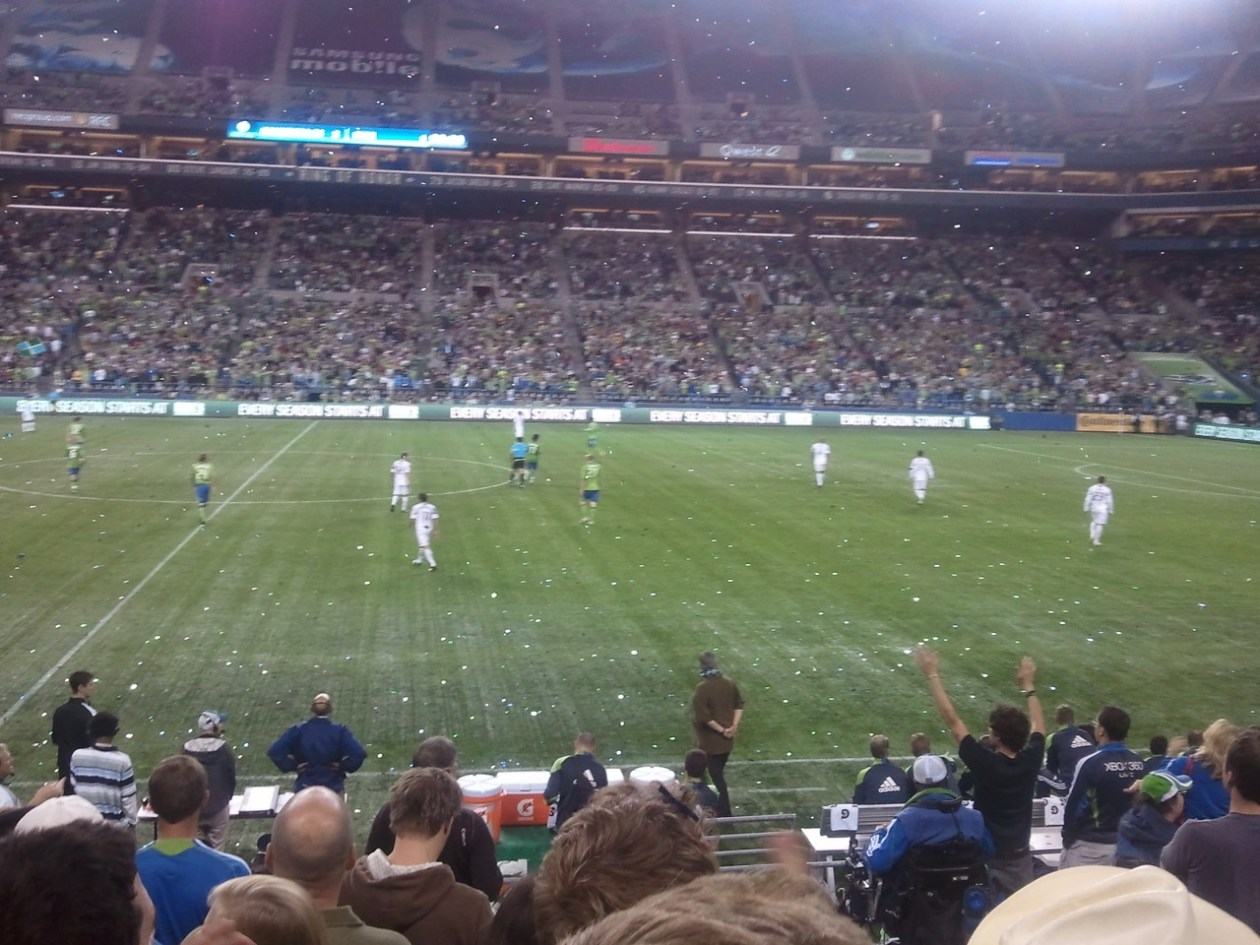 Qwest Field, Sounders