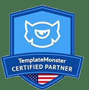 Template Monster CERTIFIED PARTNER