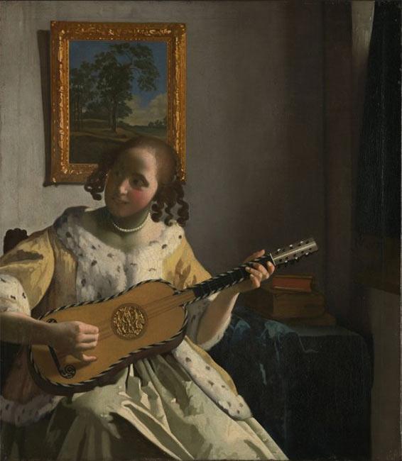 La Joueuse de guitare (Vermeer van Delft)