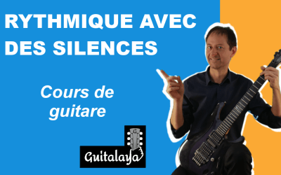 Rythmique guitare avec des silences