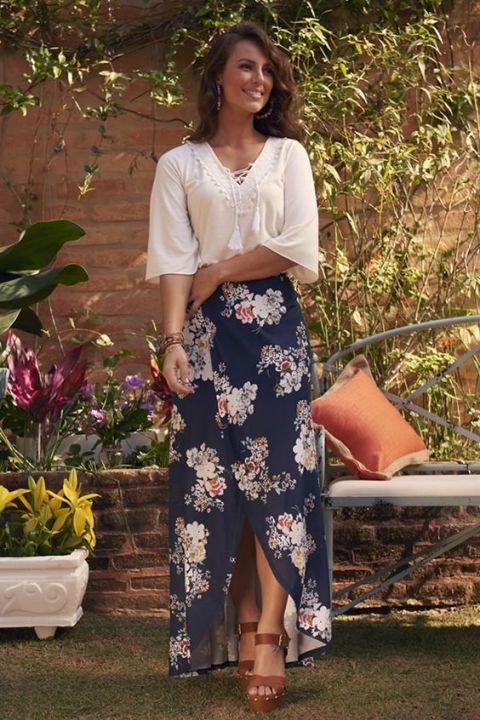11 Maneiras de usar saia longa