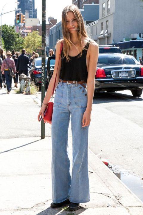 10 Produções certeiras para usar com jeans de cintura alta