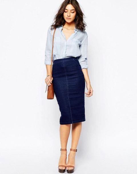 Jeans no visual do trabalho: 10 combinações interessantes para te inspirar