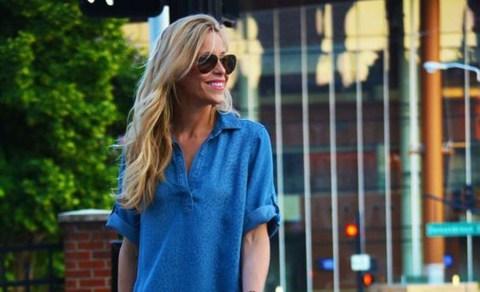 Para usar no verão: Vestido chemise jeans