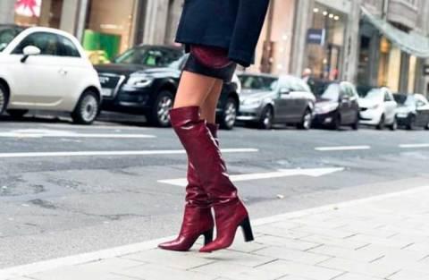 Como ser fashion com bota enrugada