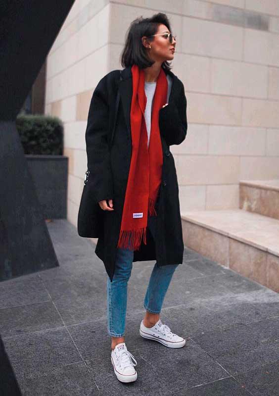 maxi casaco e cahecol