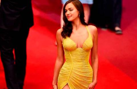 Top 5 looks maravilhosos do red carpet: Irina Shayk