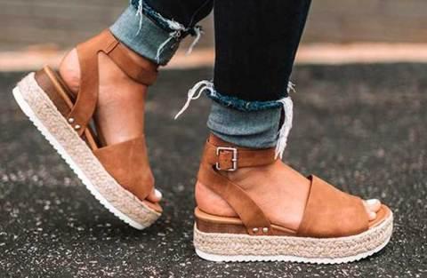 Como usar sandália plataforma na temporada primavera/verão