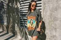 11 maneiras de combinar t-shirt dress