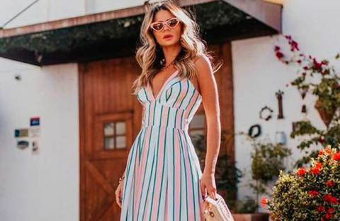 Como usar vestido longo na temporada primavera/verão