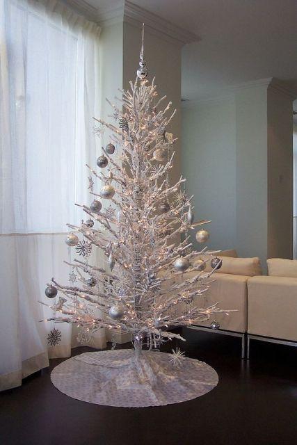 árvore prateada