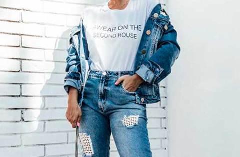 Jeans destroyed: a tendência que eleva o look casual