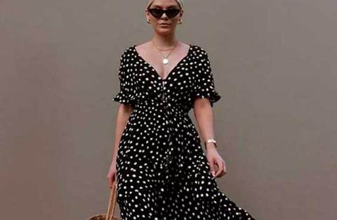 Vestido midi no verão: 10 combinações certeiras