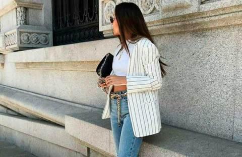 Blazer branco listrado: 10 looks estilosos com a peça