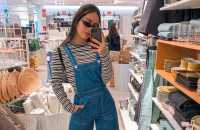 30 Looks para quem ama jardineira jeans