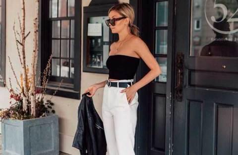 Top preto + calça branca: 12 maneiras de usar esse duo
