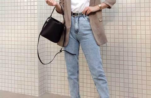 12 maneiras atuais de usar mom jeans