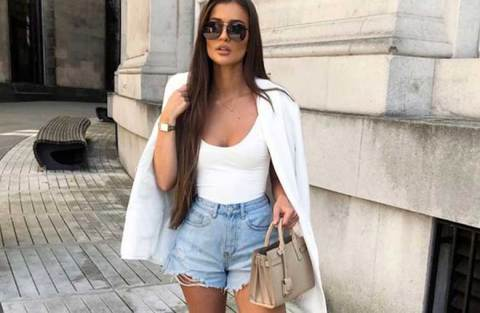 15 ideias de looks com blazer e short jeans