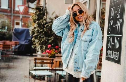 15 maneiras de usar jaqueta jeans
