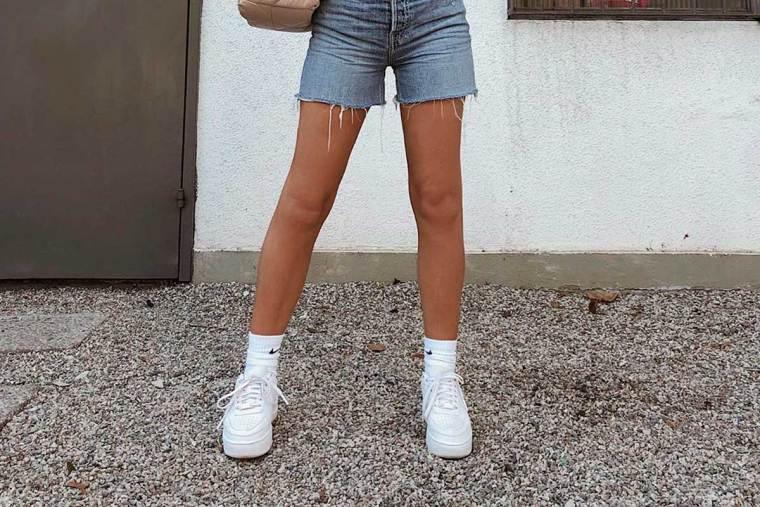 tênis plataforma branco