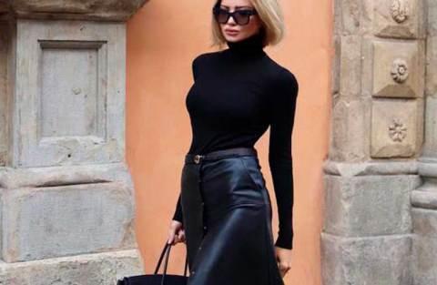 Cool no inverno: 12 ideias de look all black para testar