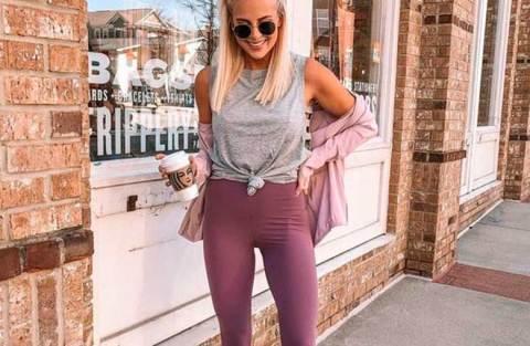Looks confortáveis e estilosos com calça legging