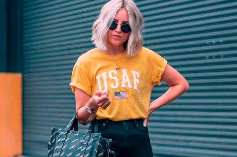 Como dar um up no look com t-shirt colorida